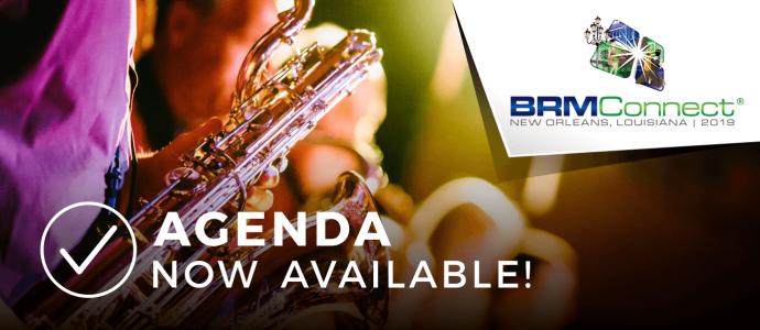 BRMConnect 2019 Agenda