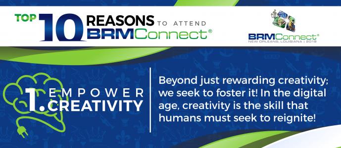 BRMConnect Empower Creativity