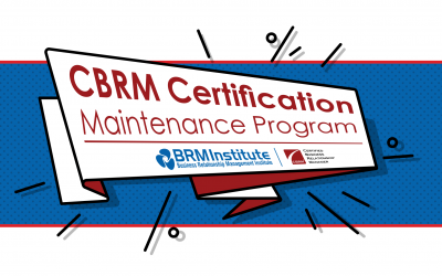 Maintaining your CBRM® Credentials Just Became Easier