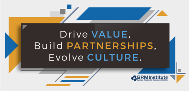 Drive Value, Build Partnerships, Evolve Culture