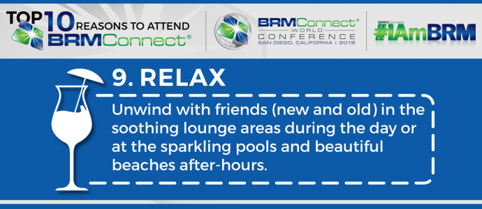 Relax at BRMConnect