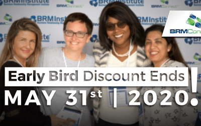 BRMConnect Virtual 2020 Early Bird Discount Ends Soon!
