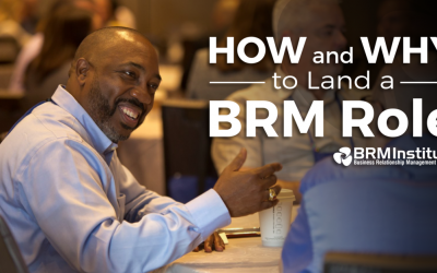 How and Why to Land a BRM Role